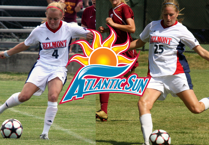 Women's Soccer Sweeps Atlantic Sun Player of the Week Awards