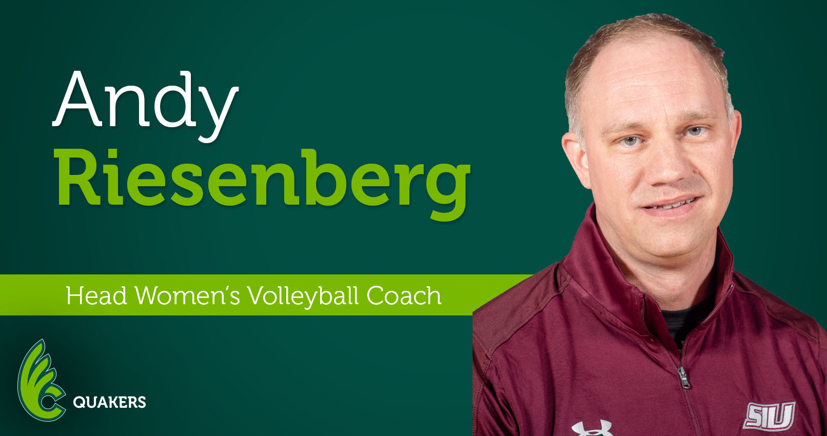 Andy Riesenberg Named Head Volleyball Coach