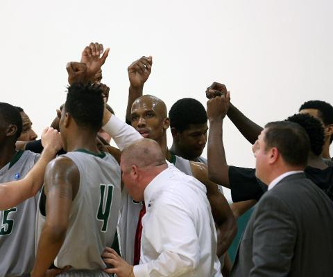 Sage Men's Basketball Team Picked first in race for Skyline North Division