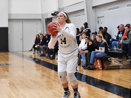 Women's Basketball Storms Past PSU Greater Allegheny, 95-56