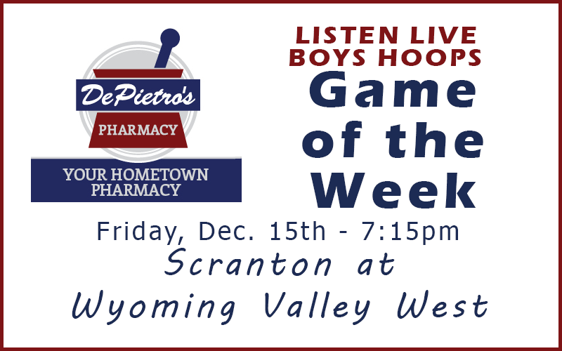 GAME OF THE WEEK: Scranton at Wyoming Valley West