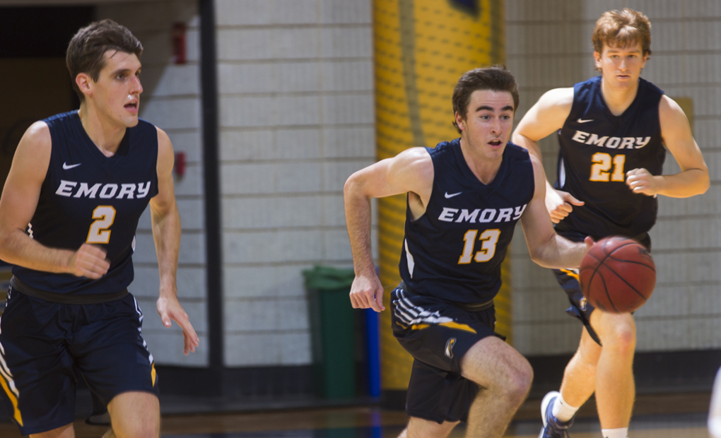 Emory Men's Basketball Wins At Brandeis