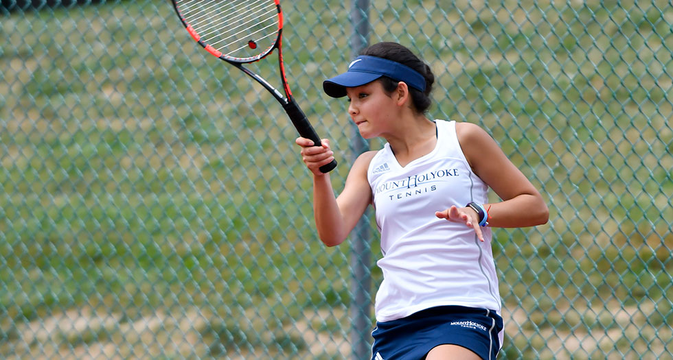 Photo of Lyons tennis player Catherine Peabody.
