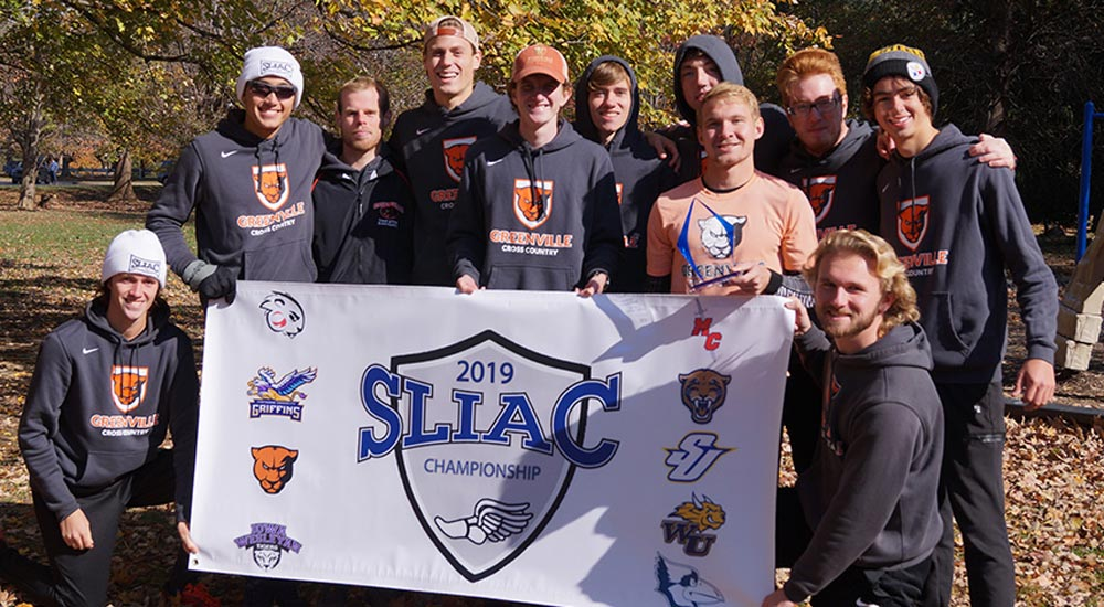 Men's cross country earns 16th SLIAC championship