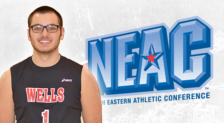 Perdicho Draws NEAC Men's Volleyball Player of the Week