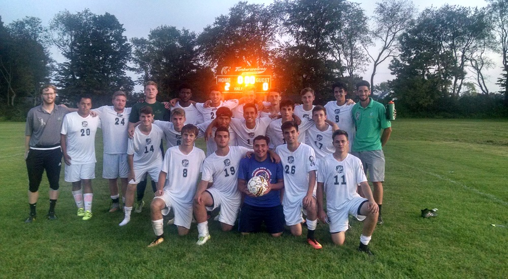 Men's Soccer Wins on Autism Awareness Day