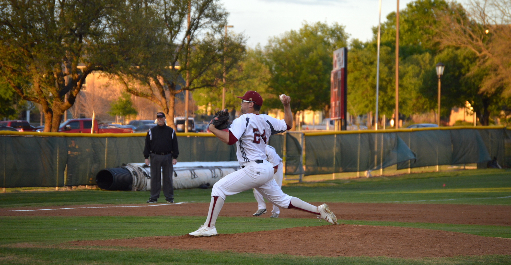 Strong Pitching Propels 'Roo Baseball Past Southwestern