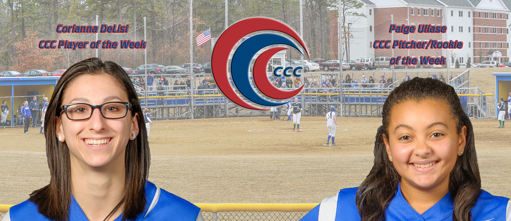 Western New England Sweeps CCC Weekly Softball Awards