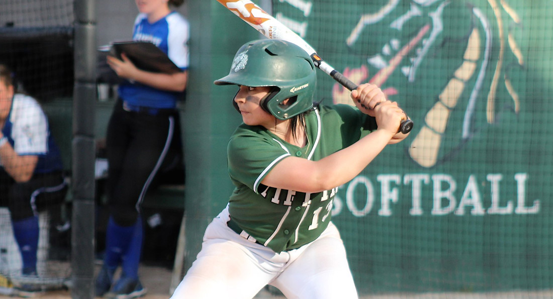Alayna Lytle led the Dragons in game one against Purdue Northwest, finishing with three hits, three runs batted in, and two runs scored.
