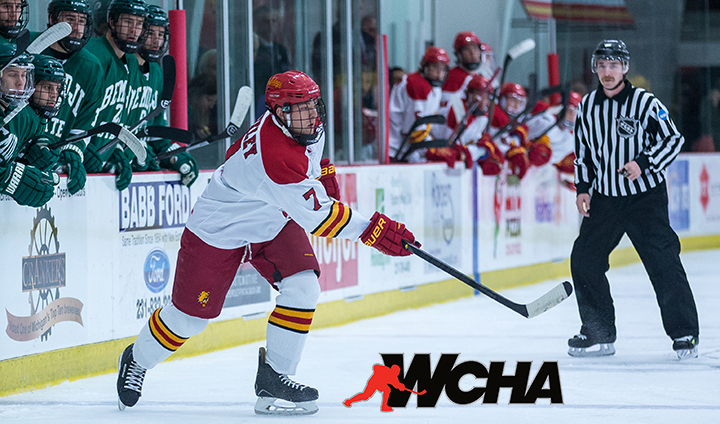 Ferris State's Jason Binkley Named WCHA Defensive Player Of The Week After Sweep