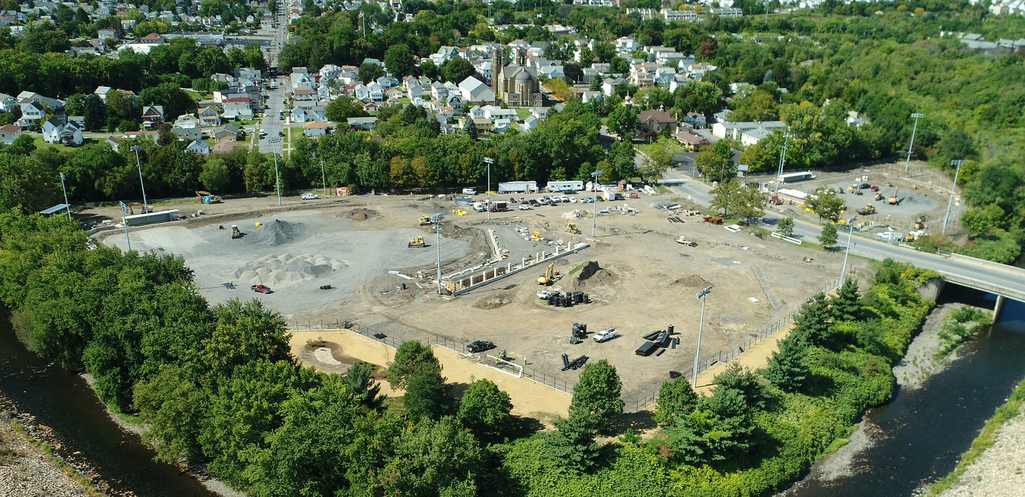 Progress Gaining Steam At Kevin P. Quinn, S.J., Athletics Campus