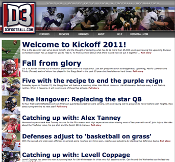 Kickoff 2011 screenshot