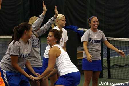Women's Tennis places three on NAC All-Conference team