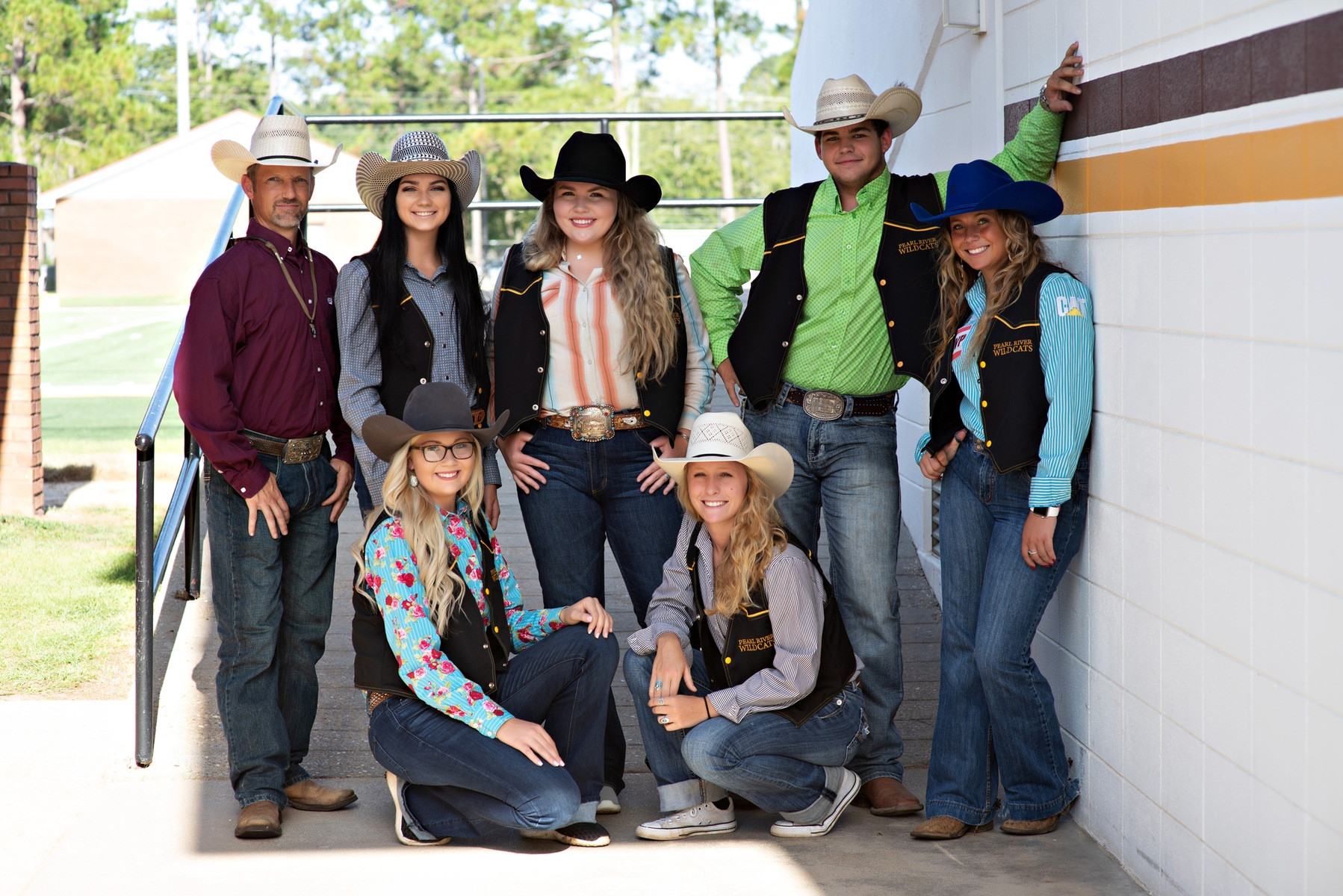 Pearl River women shine in rodeo competition
