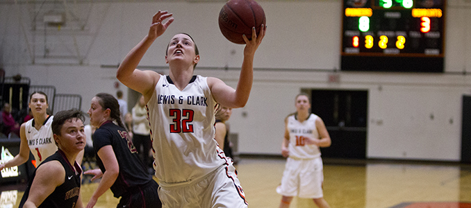 Women's Basketball Falls 74-43 at #3 George Fox