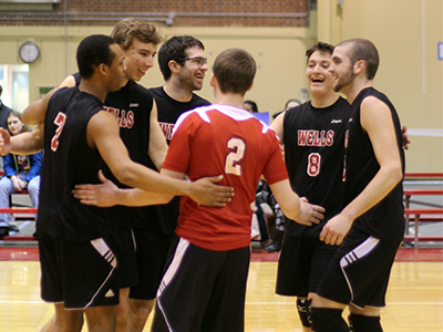 Men's Volleyball Earns Back-To-Back 3-0 Victories