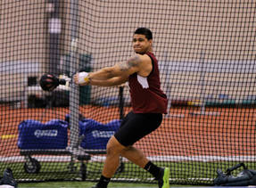 2013 NAIA Men's Indoor Track & Field Athlete of the Week - No. 5