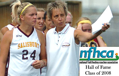 Coach Chamberlin enters NFHCA Hall of Fame