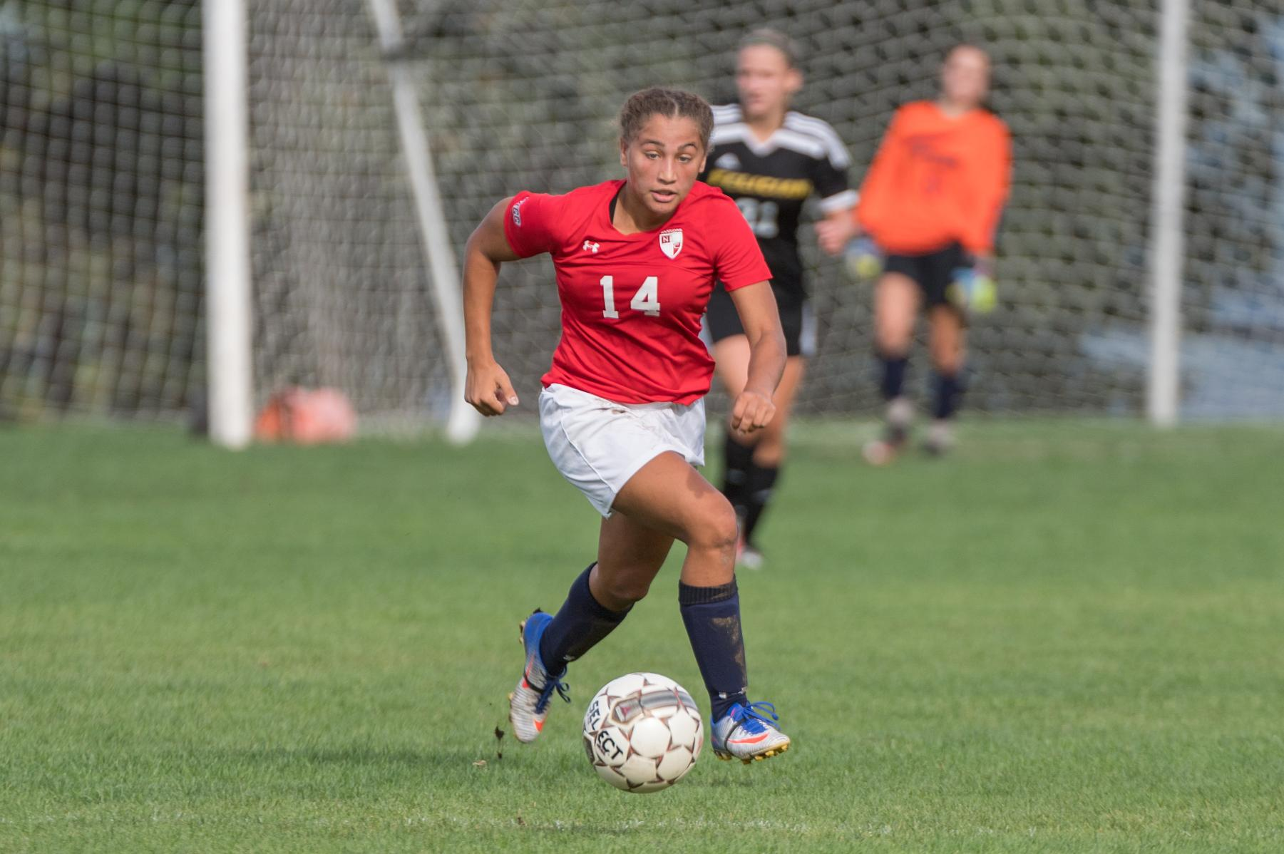 Women's Soccer falls to Lions, 1-4