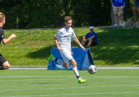 REGIS SLIPS BY MEN'S SOCCER, 1-0