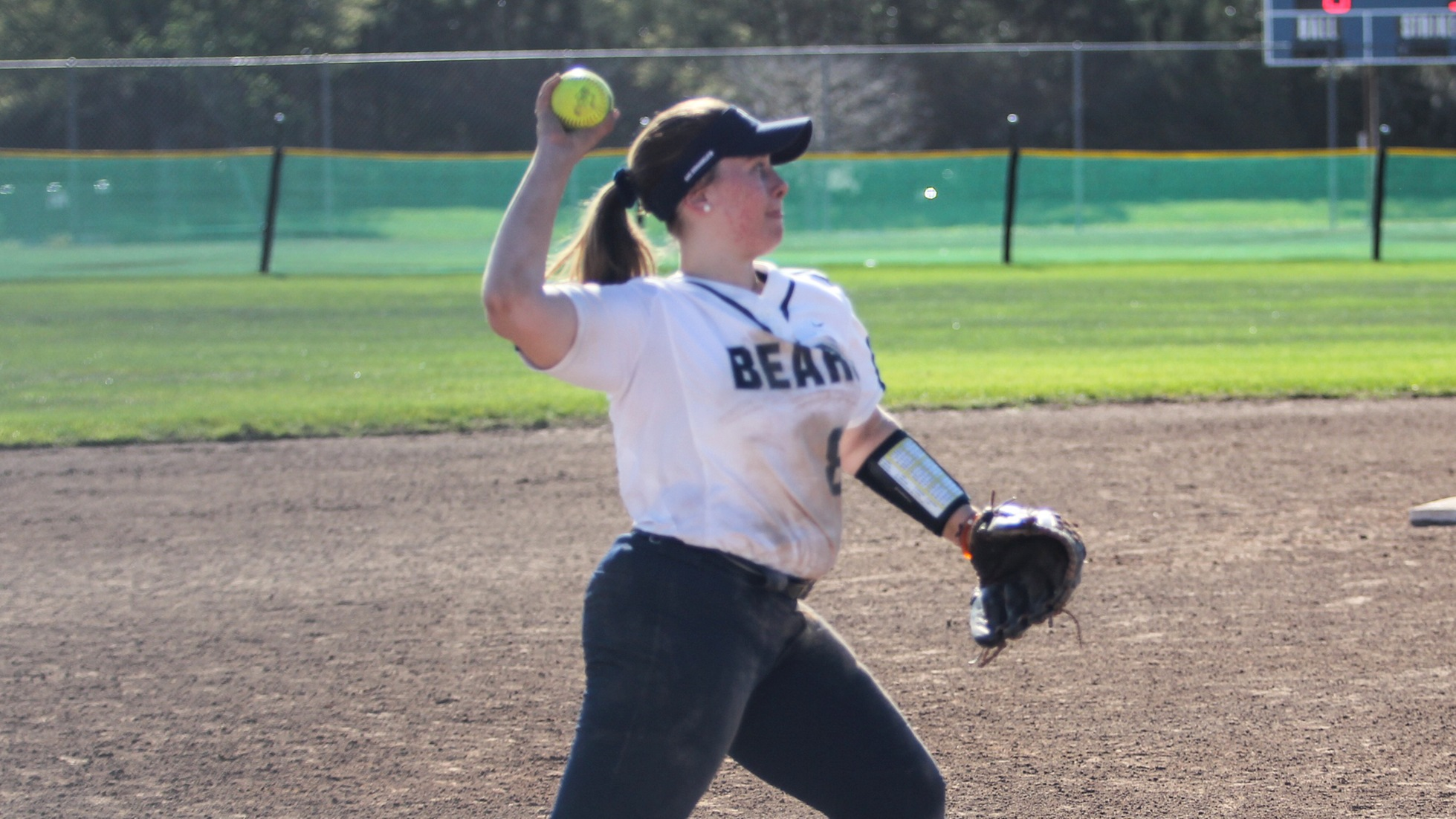 Softball Opens Season With Losses to Trine and Widener