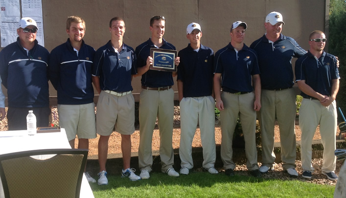Men's Golf Wins Frank Wrigglesworth Blugold Invitational