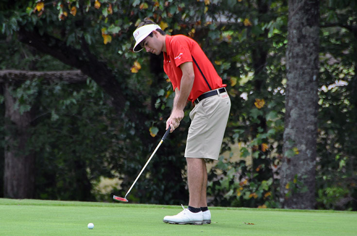 Golf: Lanier tied for first at Jekyll Island Collegiate Invitaional, Panthers third heading into final round