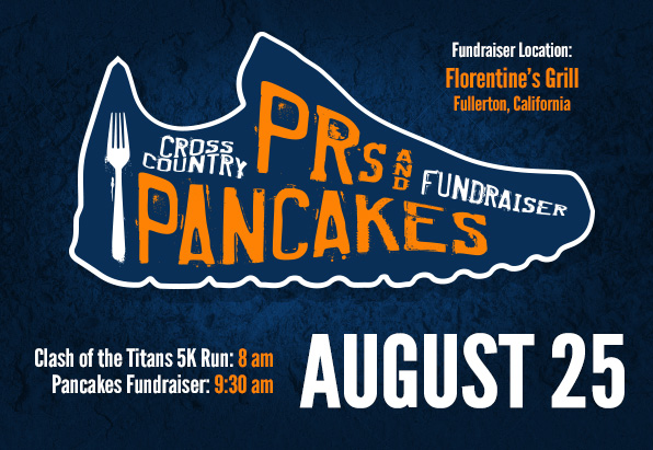 Registration Now Open For Cross Country PRs and Pancakes Fundraiser