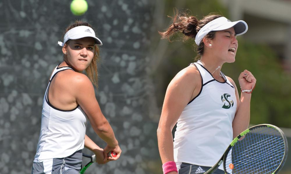 WOMEN'S TENNIS WITH STRONG SHOWING IN WEATHER-SHORTENED FINAL FALL TOURNAMENT
