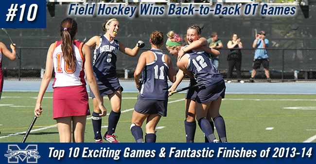 Top 10 Exciting Games of 2013-14 - #10 Field Hockey Wins Back-to-Back Overtime Matches