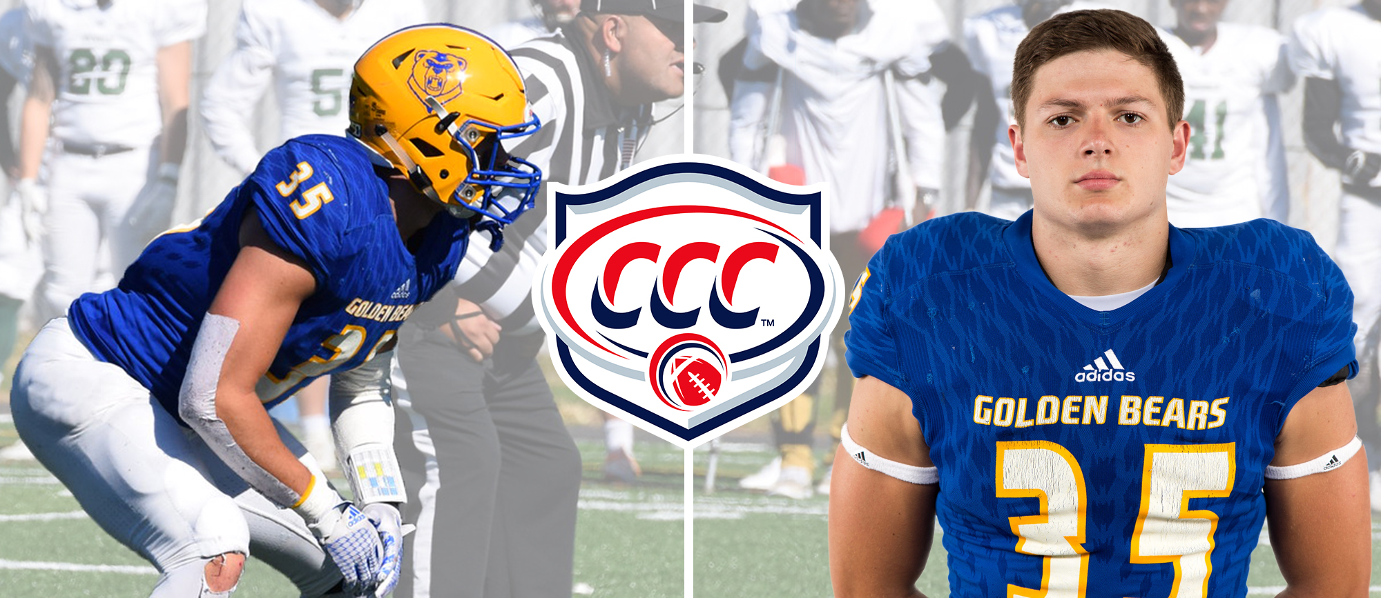 Erich Keutmann Named CCC Football Defensive Player of the Week
