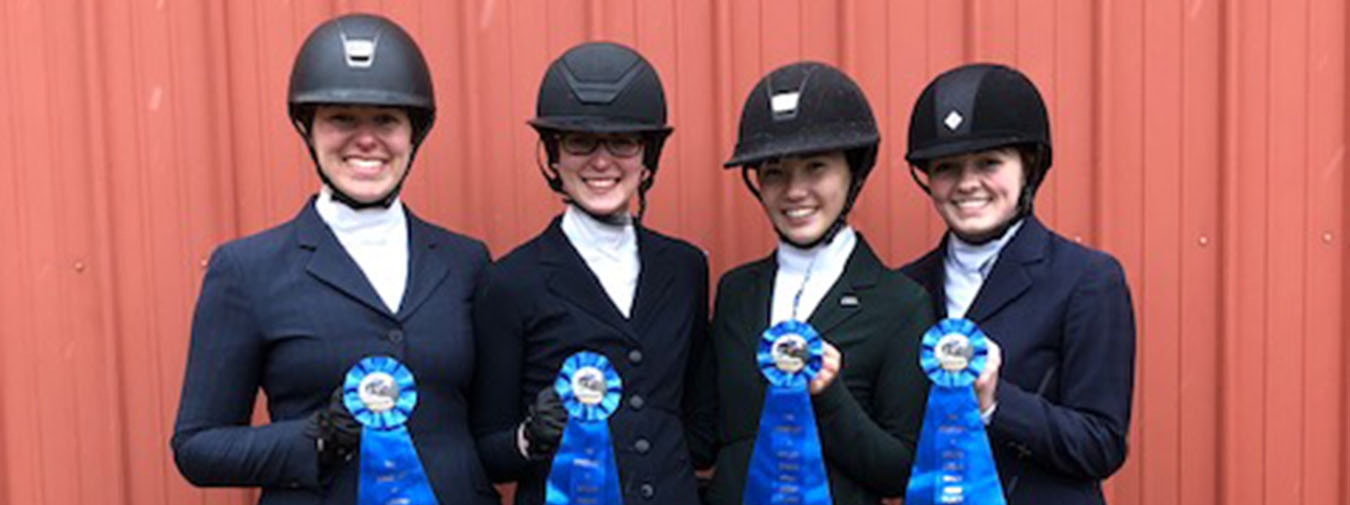 Goucher Equestrian Claims 10th-Straight Zone IV Region I Championship At Maryland/American IHSA Show
