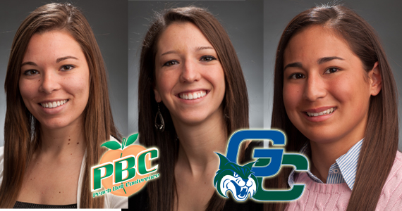 GC Softball Puts Three on PBC All-Academic Team