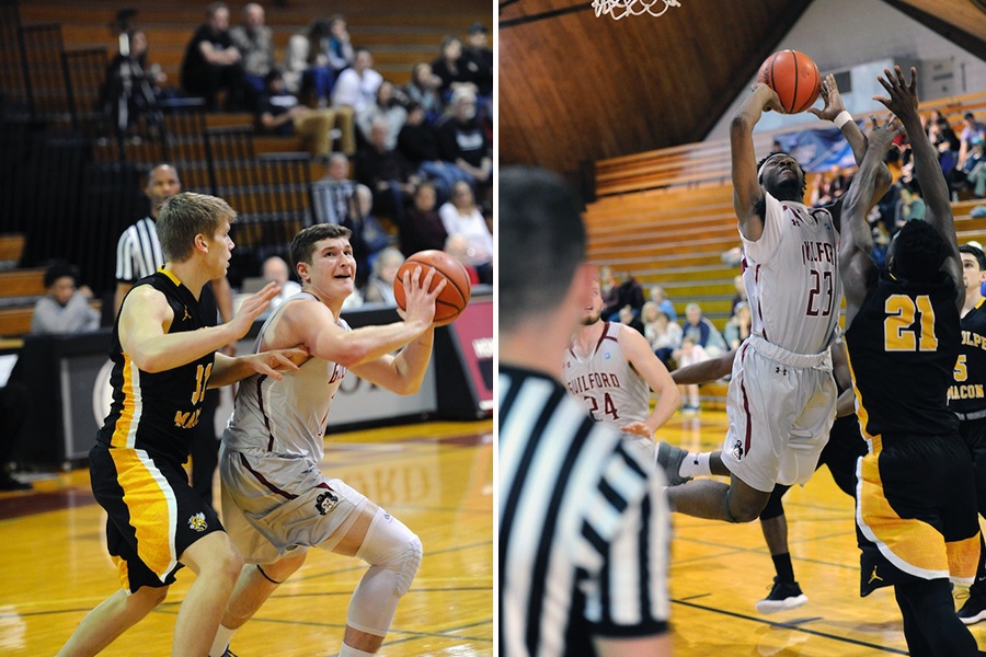 Carson Long '19 (left), Marcus Curry '19 (right) (Andy Gore photos)