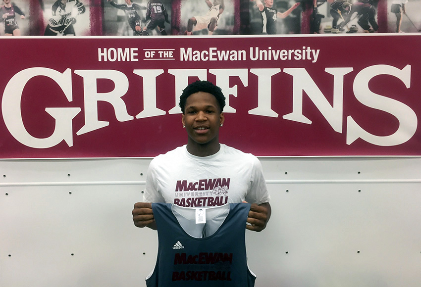 Point guard Keyon Moore will begin his university basketball career with the Griffins starting in the 2018-19 season.