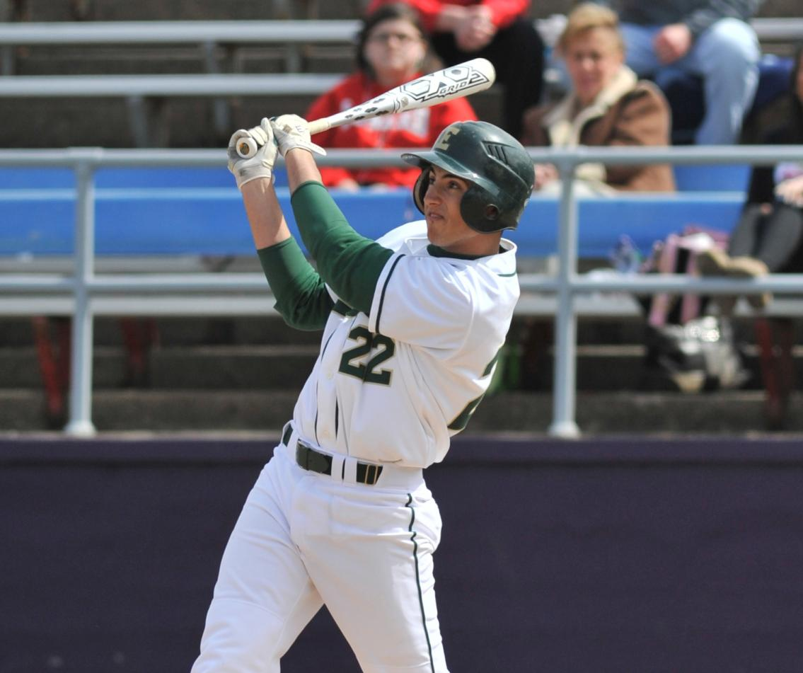 Baseball Notches Double-header Sweep of Lesley University in NECC Opener