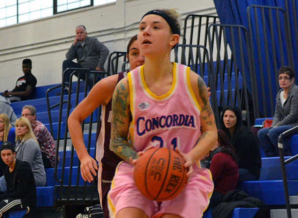 Clippers Women's Basketball Upended by Philadelphia in CACC Action
