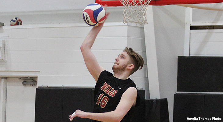 Men's Volleyball Closes Regular Season With Win