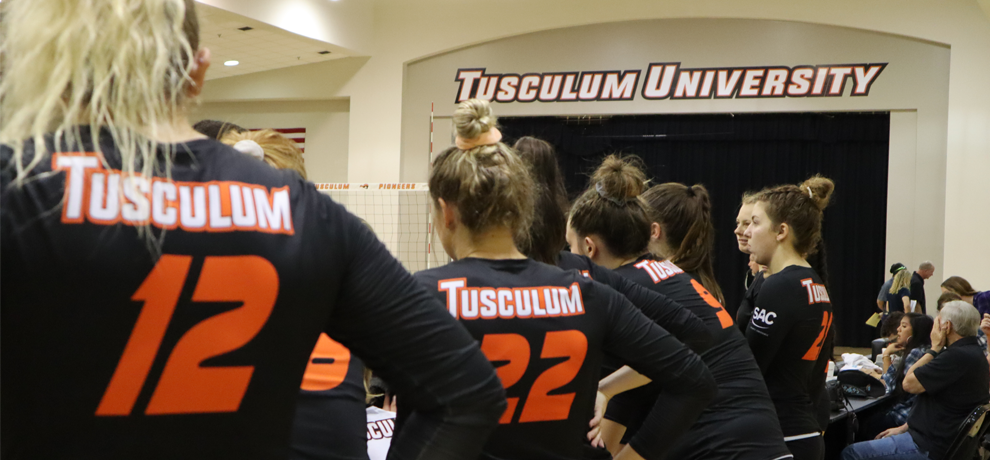 Women's Volleyball Rounds Out Road Trip with Out-of-State Rematches