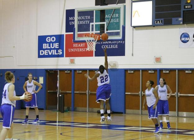 Women's Basketball Opens Practice