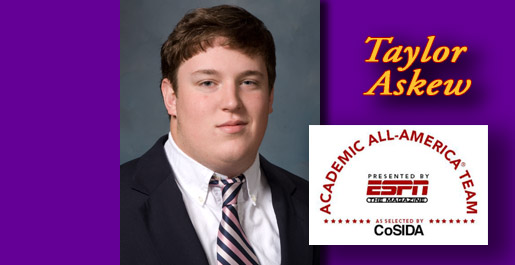 Tech's Taylor Askew voted Academic All-America