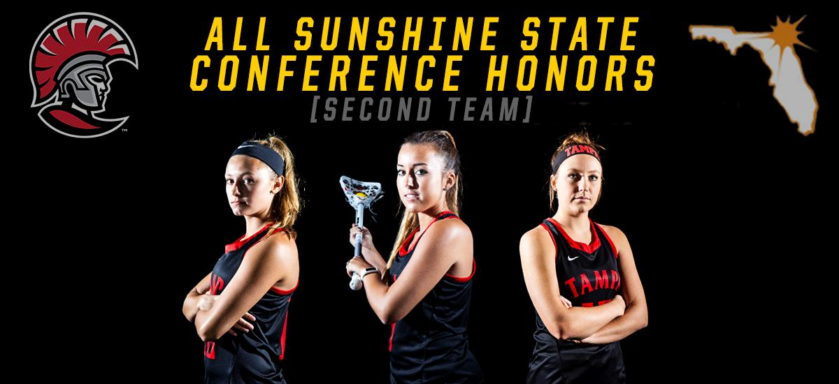 Three Spartans Named to All-Sunshine State Conference Second Team