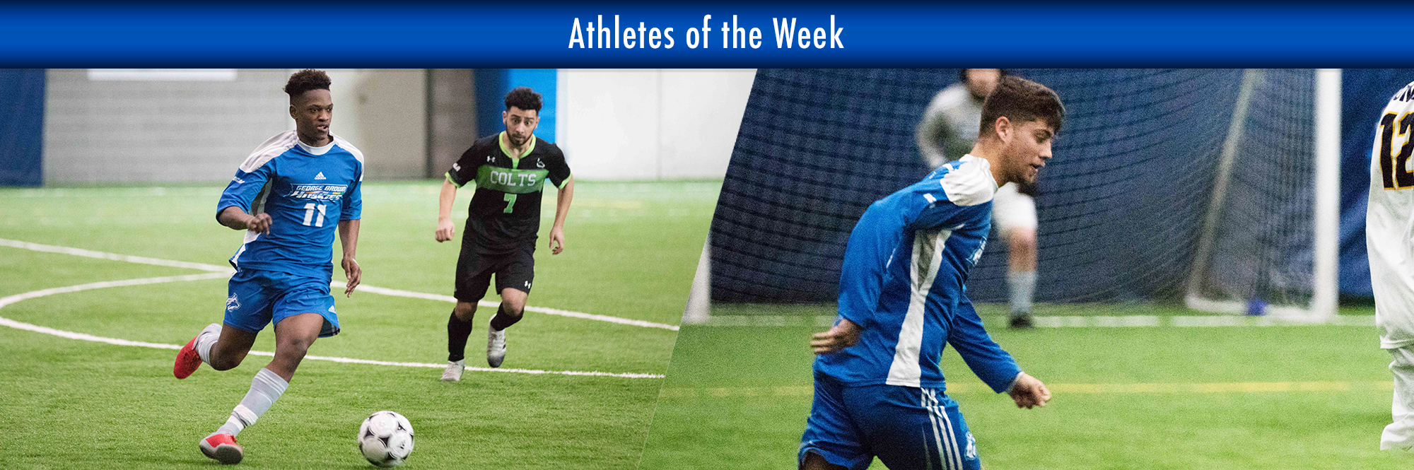 SHAQUILLE AGARD, MATHEW DA SILVA NAMED HUSKIES ATHLETES OF THE WEEK