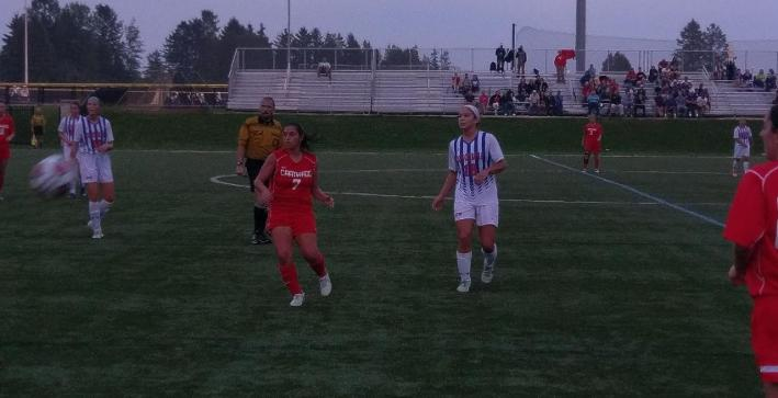 Women's Soccer falls in darkness-shortened match with Carthage