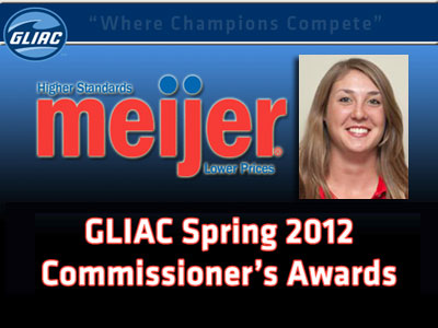 Hetchler Claims GLIAC Commissioner's Honor