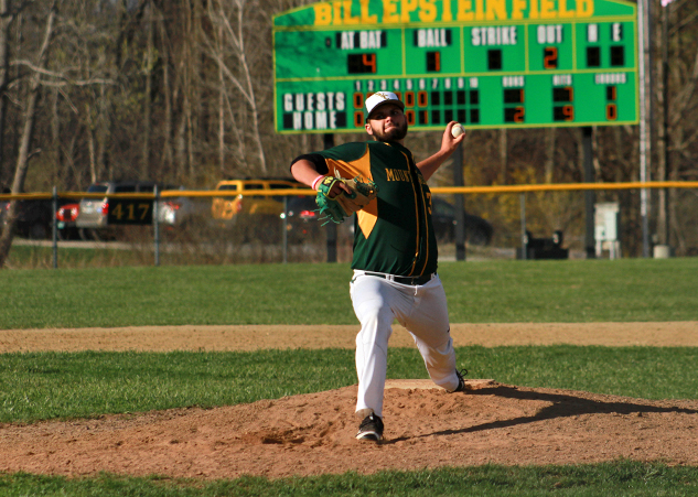 Stacey Breaks Southern Vermont Hitting Streak Record as Mountaineers Pull Ahead for 9-5 NECC Win Over Daniel Webster