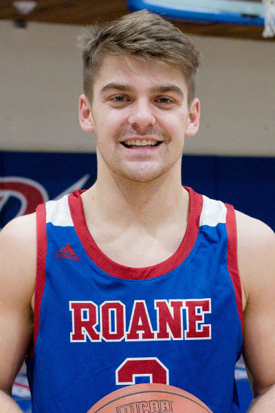 Jacob Naylor, Sophomore guard, Roane State, TCCAA Men's Basketball Player of the Week 2/8