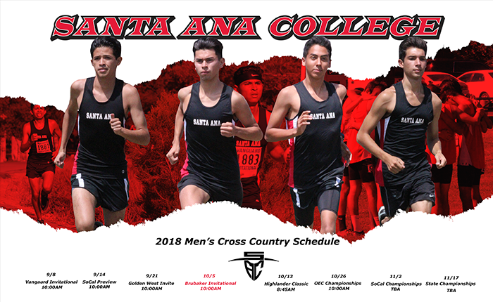 Santa Ana Men Place Third While Women Take Sixth in Golden West Invite