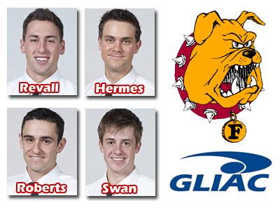 Four Men's Tennis Players Named All-GLIAC