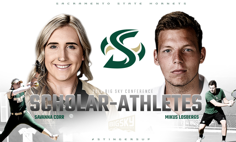 CORR AND LOSBERGS NAMED BIG SKY SCHOLAR-ATHLETES